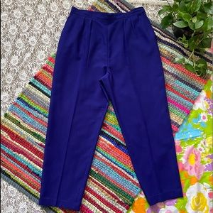 VINTAGE 70s 80s HIGH WAISTED PLEATED TROUSERS